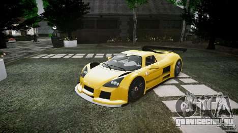Gumpert Apollo Sport v1 2010 для GTA 4 вид слева