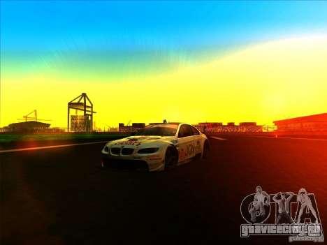 BMW M3 GT ALMS GT2 Series для GTA San Andreas вид изнутри