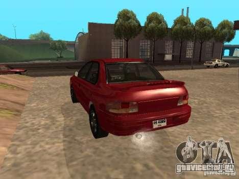Subaru Impreza WRX STI 1995 для GTA San Andreas вид слева