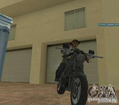 PCJ-600 из GTA IV для GTA San Andreas вид справа