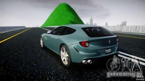 Ferrari FF 2012 для GTA 4 вид сзади слева