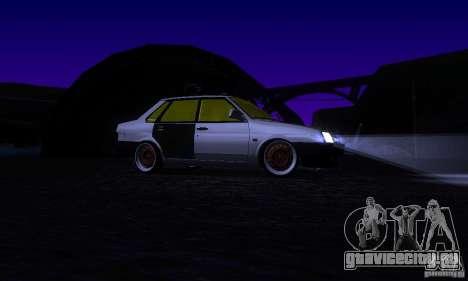 ВАЗ 21099 Rat Look для GTA San Andreas вид сбоку