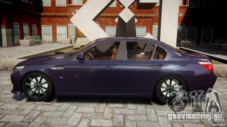 BMW M5 Lumma Tuning [BETA] для GTA 4 вид слева