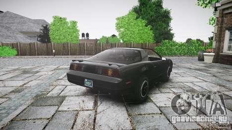 KITT Knight Rider для GTA 4 вид сверху