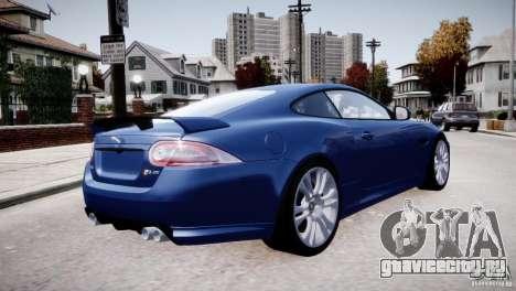 Jaguar XKR-S 2012 для GTA 4 вид снизу