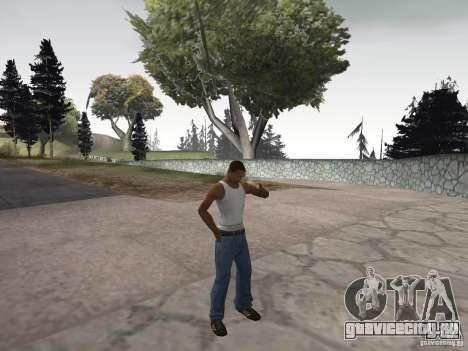 Возможность курить для GTA San Andreas третий скриншот