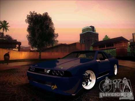 Elegy JDM Tuned для GTA San Andreas вид сзади