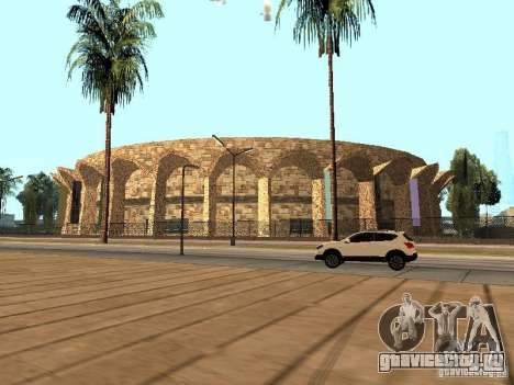 Новый стадион в Лос Сантосе для GTA San Andreas четвёртый скриншот
