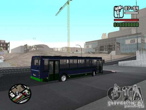 ЛиАЗ 5256.25-II для GTA San Andreas вид справа