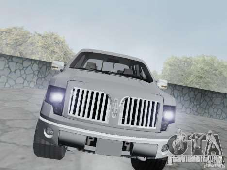 Lincoln Mark LT 2013 для GTA San Andreas вид сзади