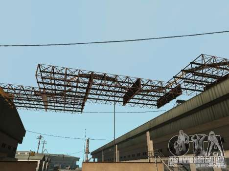 Huge MonsterTruck Track для GTA San Andreas шестой скриншот
