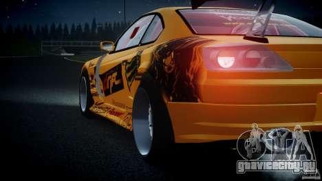Nissan S330SX GT Drift Texture для GTA 4 вид сбоку