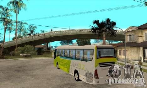 Marcopolo Viaggio G7 1050 Santur для GTA San Andreas вид сзади слева