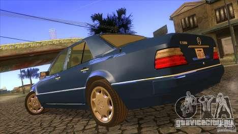 Mersedes-Benz E500 для GTA San Andreas вид слева