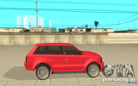 Huntley Sport из GTA 4 для GTA San Andreas вид слева