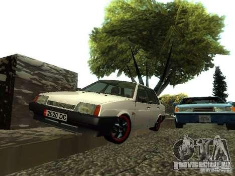 ВАЗ 21099 v.2 для GTA San Andreas вид справа