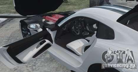 Dodge Viper SRT GTS 2013 для GTA 4 вид сбоку