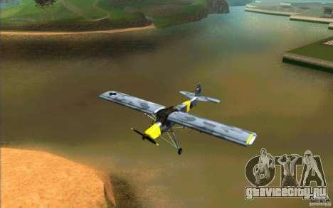 Fiesler Storch для GTA San Andreas вид слева