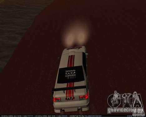 Новые винилы на Sultan для GTA San Andreas вид изнутри
