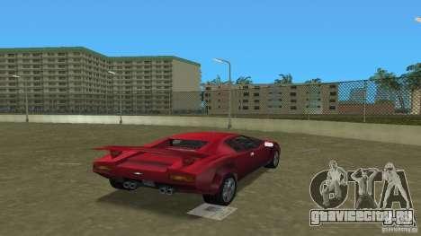 Infernus BETA для GTA Vice City вид слева