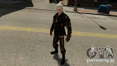 Геральт из Ривии v3 для GTA 4 пятый скриншот