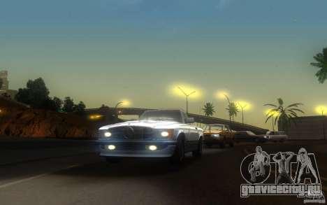 Mercedes-Benz 350 SL Roadster для GTA San Andreas вид справа