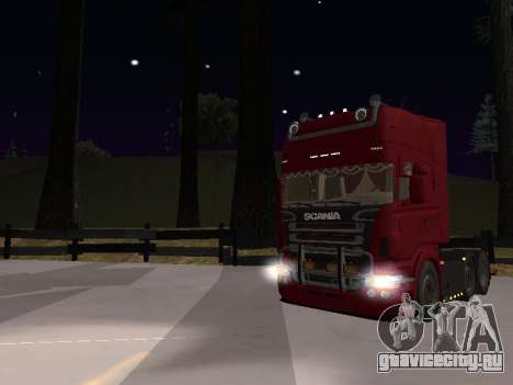 Scania 460 для GTA San Andreas вид сбоку