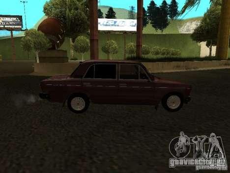Ваз 21063 для GTA San Andreas вид сзади