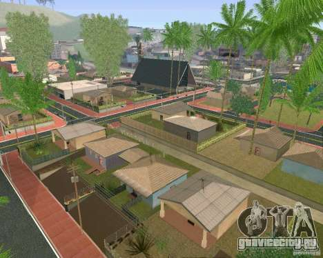 Новые Текстуры Лос-Сантоса для GTA San Andreas десятый скриншот