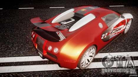 Bugatti Veyron 16.4 v1 для GTA 4 салон