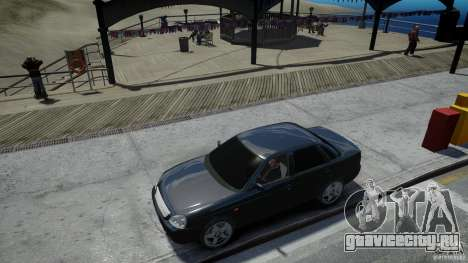 Lada Priora Light Tuning для GTA 4