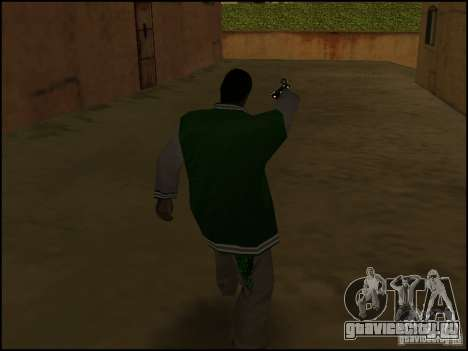 Оружие в одной руке для GTA San Andreas третий скриншот