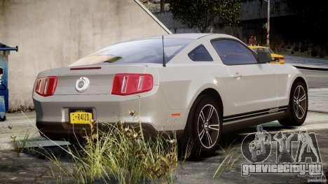 Ford Mustang V6 2010 Premium v1.0 для GTA 4 вид сверху