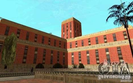 Новые текстуры для госпиталя в Лос Сантосе для GTA San Andreas шестой скриншот