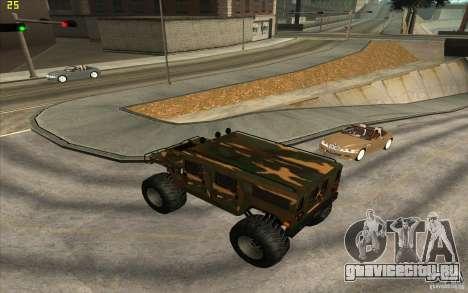 Hummer H1 Humster для GTA San Andreas вид слева
