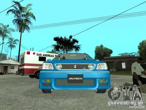 Nissan Stagea 25RS four S для GTA San Andreas вид справа