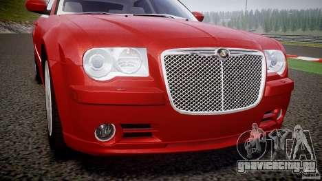 Chrysler 300C 2005 для GTA 4 вид сверху