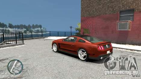 Ford Mustang Boss 302 2012 для GTA 4 вид сзади слева