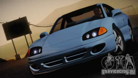 Dodge Stealth RT Twin Turbo 1994 для GTA San Andreas вид сверху