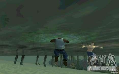 Люди умеют плавать для GTA San Andreas пятый скриншот