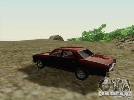 Chevrolet Chevelle для GTA San Andreas вид справа
