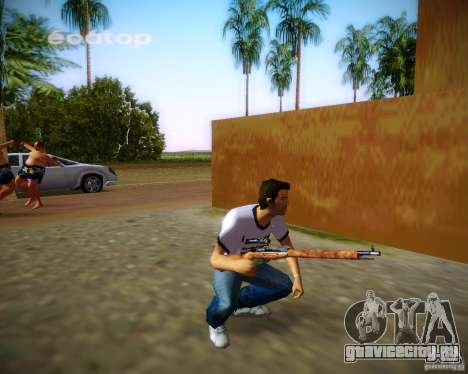 Винтовка Мосина для GTA Vice City седьмой скриншот