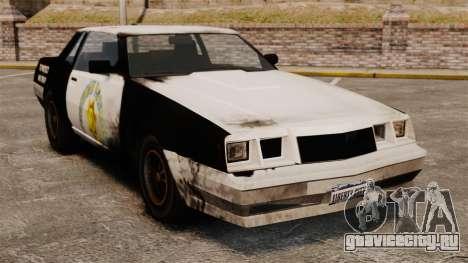 Полицейская раскраска для ржавого Sabre для GTA 4