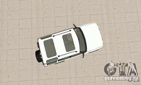 Land Rover Discovery 2 для GTA San Andreas вид справа