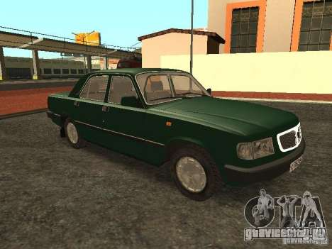 ГАЗ 3110 v.2 для GTA San Andreas вид справа