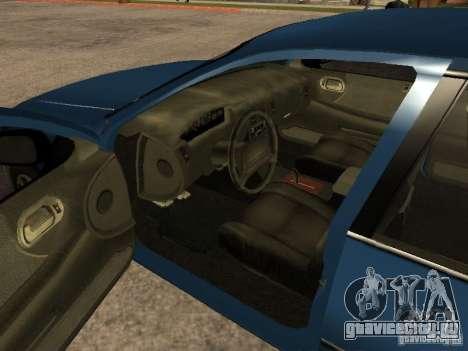 HD Kuruma для GTA San Andreas вид сзади слева