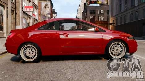 Honda Civic Si для GTA 4 вид слева