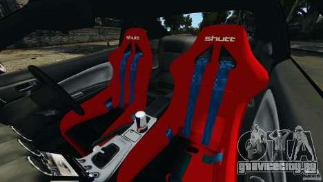 Nissan Silvia S15 JDM для GTA 4 вид изнутри