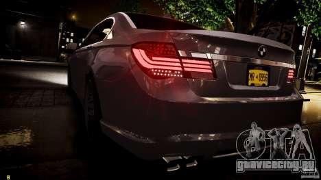 BMW 750Li Sedan ASANTI для GTA 4 салон