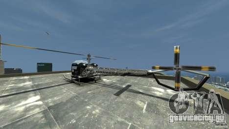Sparrow Hilator для GTA 4 вид сзади слева